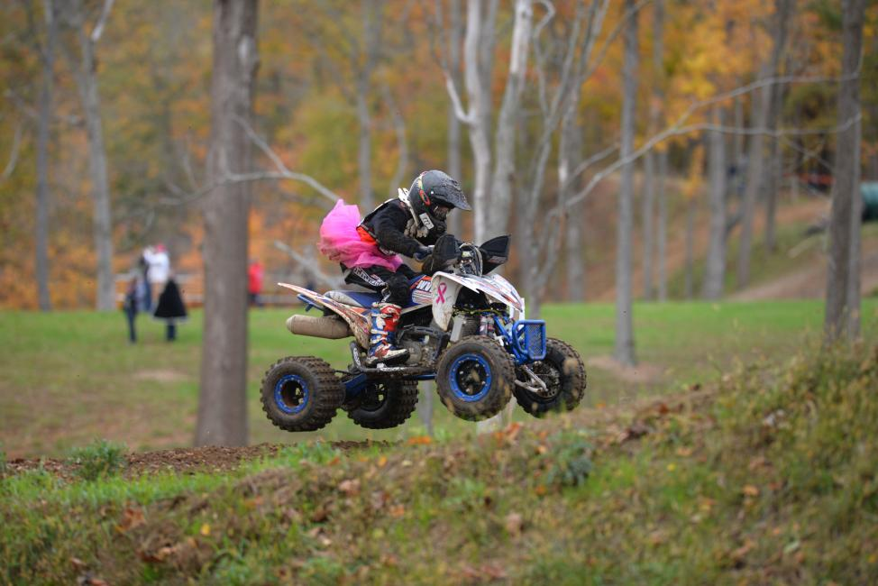 Break out your PINK attire for Ironman and help GNCC raise awareness for breast cancer care and research.