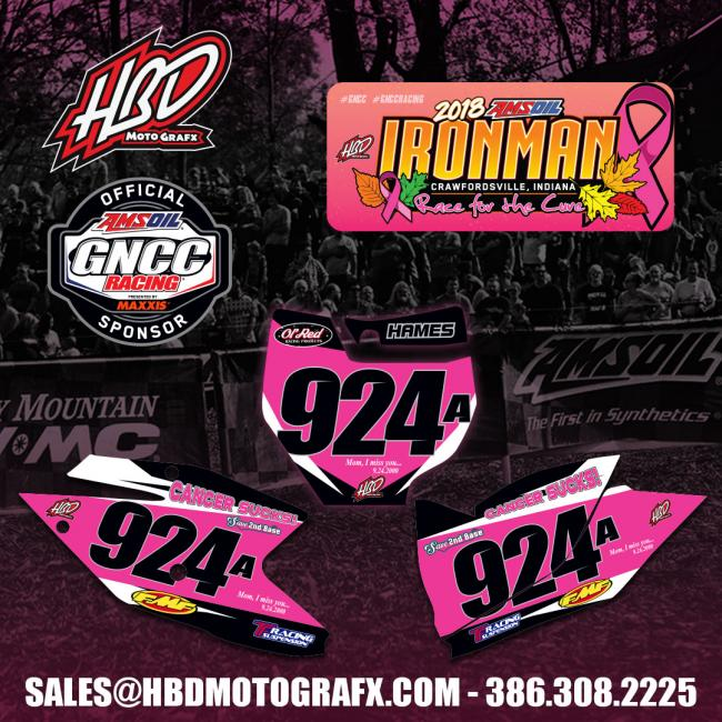 Get your pink backgrounds today from HBD MotoGrafx; Email sales@hbdmotografx.com or call 386.308.2225 to order yours before Oct. 23.