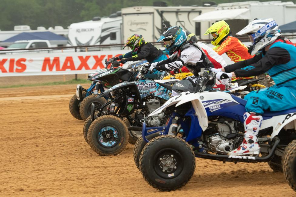 ATVMX heads to Ironman Raceway on April 27 and 28.