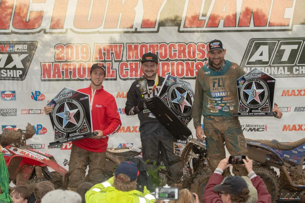 Thomas Brown, Joel Hetrick and Chad Wienen rounded out the AMA Pro overall podium.