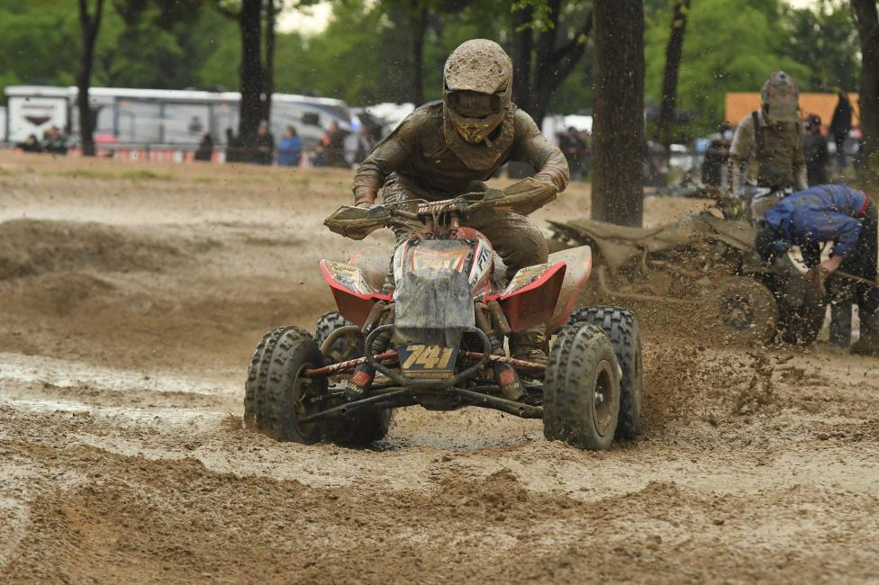 Westley Wolfe finished fifth overall at the Underground ATVMX National.